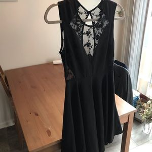 NWT Black lacey dress